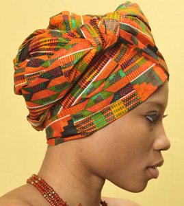 African head Wrap 269x300 Natural hair doesnt make you Blacker