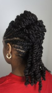 DSC87671 168x300 Natural Hair Style Inspired By Fusion of Cultures