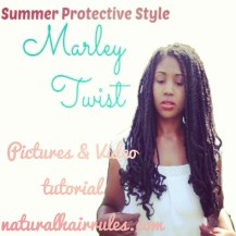 Summer Protective Style Marley Twist