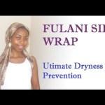 Fulani Wrap for More Moisturized Natural Hair