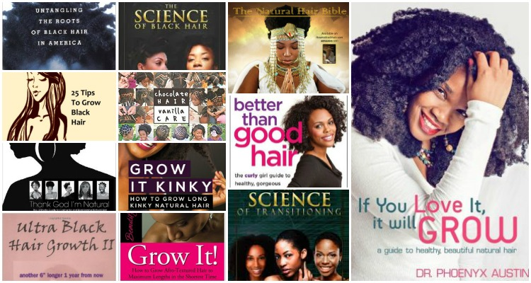 12 Natural Hair Books Every Natural Should Own