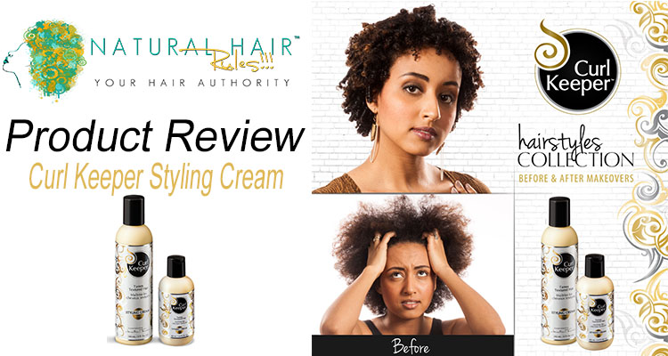 NEW Product Alert! Curl Keeper Styling Cream