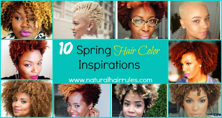 10 Spring Hair Color Inspirations