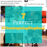 7 Best #ThanksgivingClapBack for Your Hair Critics