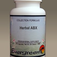 C3280 Evergreen Herbs Herbal ABX Capsules 100 count Homeopathy Holistic Healthcare Natural Medicine Center Lakeland Central Florida