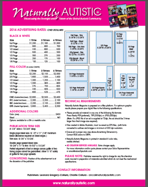 2015 mag spec sheet updated