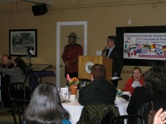 2013 Kick-Off event luncheon with Guest Speaker Mayor John Henderson of Sechelt