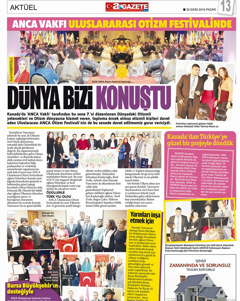 Turkish newspaper Bursa