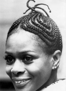 cicelytyson In Celebration of Black History Month A Look Back at the Black Hair Story