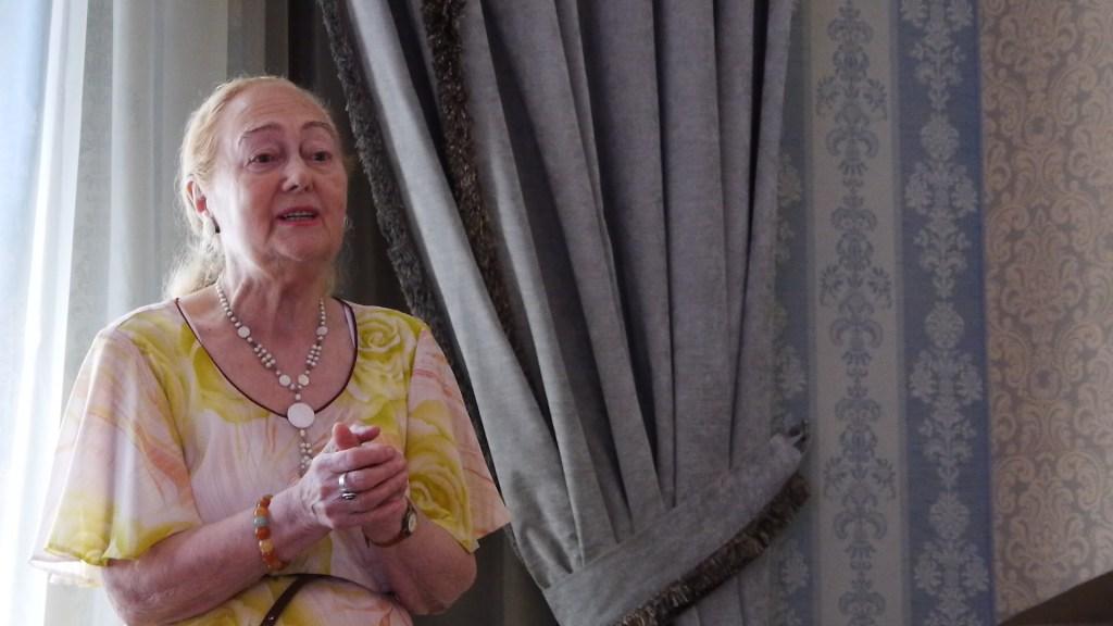 Doamna Viorica Tamas, Director Cercetare Hofigal