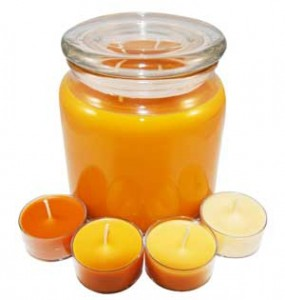 scent throw candles