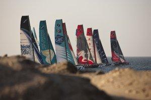Extreme Sailing Series: Préparation à Masqate