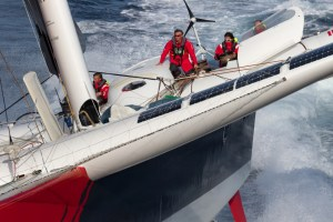 """Jules Verne Trophy : """"it's going to be fairly violent""""… Francis Joyon"""
