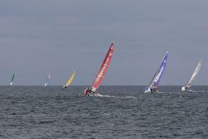 Solitaire Bompard Le Figaro : Bataille de bords à tirer le long des côtes anglaises