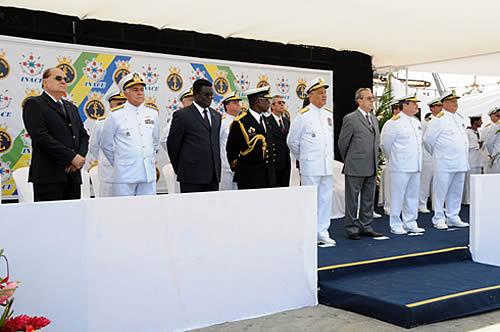 Cerimônia P 70 Macaé - foto MB