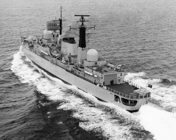 HMS Coventry seatrials