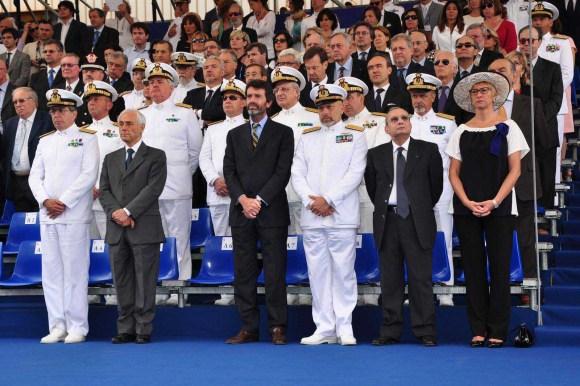 FREMM Carlo Margottini - lançamento 29 junho 2013 - foto 6 Marinha Italiana