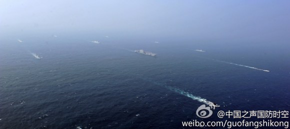 PLAN ships and Liaoning - 4