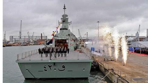 corveta Al Rasikh de Omã - foto BAE Systems