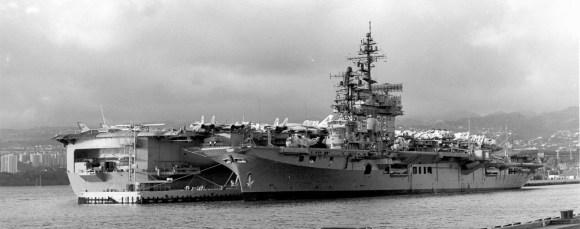 HMAS Melbourne e USSKitty Hawk - CV63 Pearl Harbour