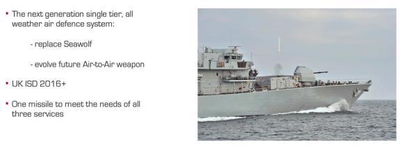 sistema Sea Ceptor - CAMM-M - imagem 4 MBDA