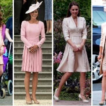 イギリスのケイト・ミドルトン妃のファッションチェック