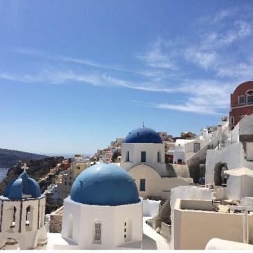 ギリシャサントリーニ島旅行記~夢のパラダイス・イアで三泊