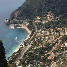 フランスのエズ旅行記、ニース近郊の美しい町