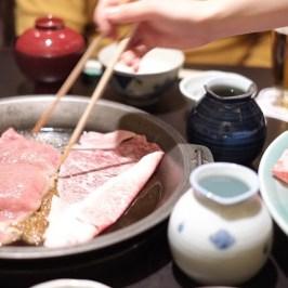 イギリス人に好評の和食、日本でしか食べられないすき焼き