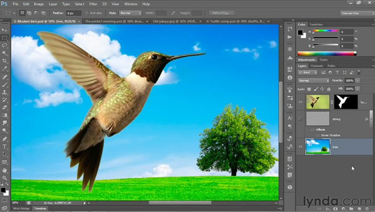 Adobe Photoshop CS6 beta, su nueva interfaz y características