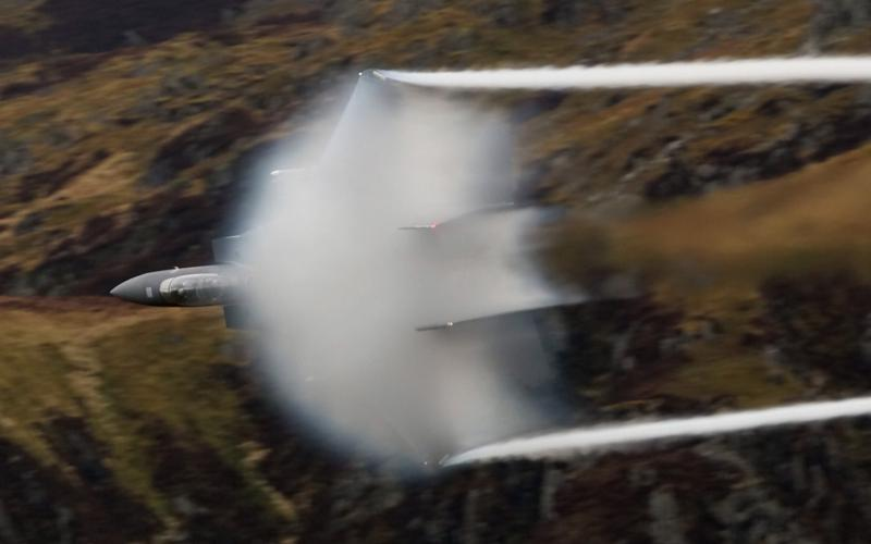 F-15s Pound Physics Into Submission