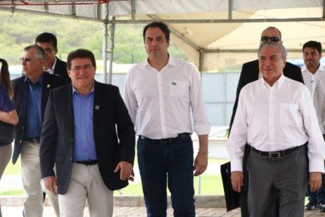 Resultado de imagem para Michel Temer na inauguração do IF Sertão em Serra Talhada