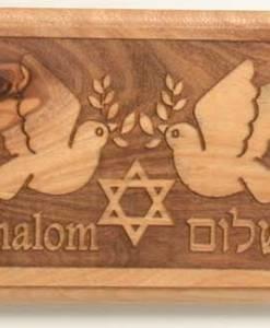 Nazareth Secret Shalom Olive wood