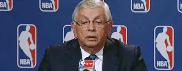 David Stern cancela NBA noviembre