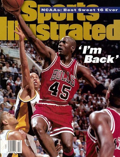 Michael Jordan 19 marzo 95