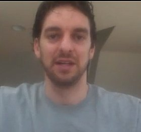 Pau Gasol webcam