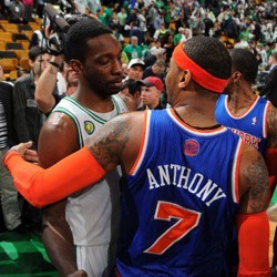 Carmelo Anthony y Jeff Green