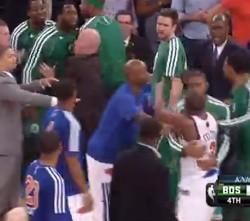 Celtics Knicks bronca