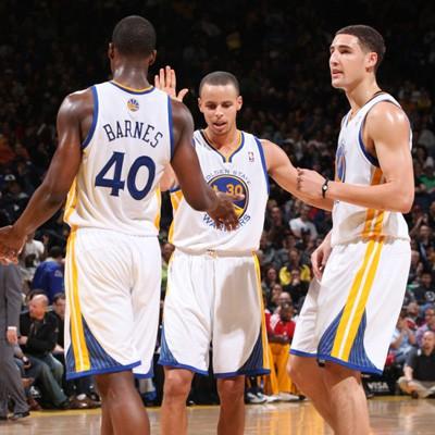 Barnes, Curry y Thompson