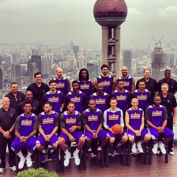 Lakers en Shangai