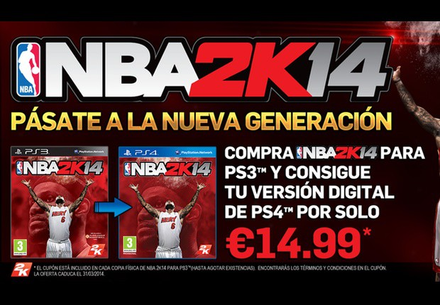 nba 2k14 oferta playstation 4