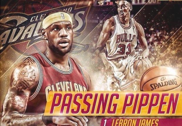 LeBron James Pippen