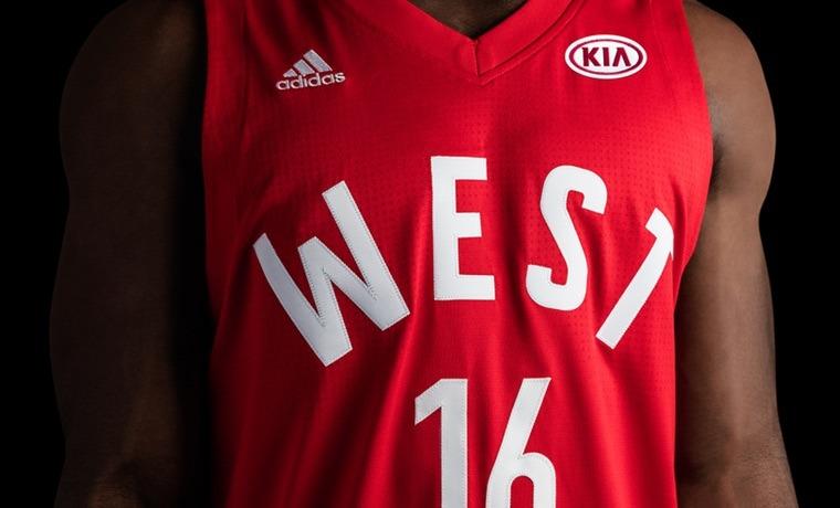 camisetas NBA All-Star 2016 Oeste