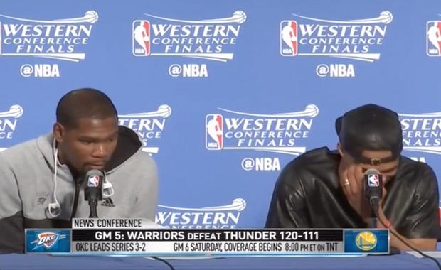 Durant y Westbrook
