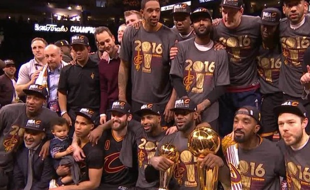 Cleveland Cavaliers campeones NBA 2016