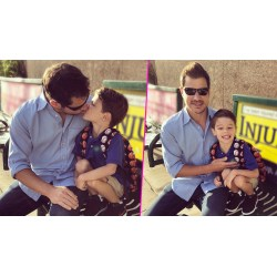Antique Watch Access Nick Lachey Gives His Son A Kiss On Lipsfor His Day Kindergarten Watch Access Nick Lachey Gives His Son A Kiss On