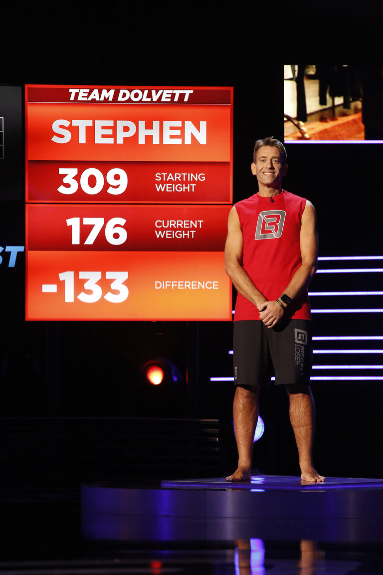 The Biggest Loser: Before and After: Stephen Photo: 2626886 - NBC.com