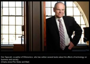 Don Tapscott Crowdsource Canada