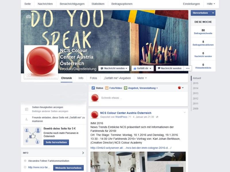 Facebook NCS Österreich