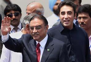 Pakistani President Asif Ali Zardari's palatial private villa nears completion in Lahore